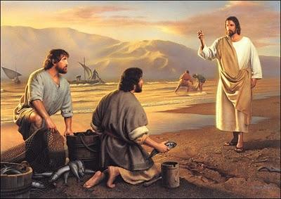 """Resultado de imagen de """"Jesús les dijo: 'Venid conmigo, y os haré pescadores de hombres""""."""