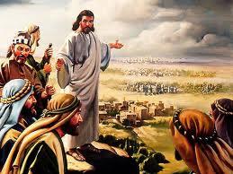 Resultado de imagen para EN aquel tiempo, recorría Jesús Galilea, pues no quería andar