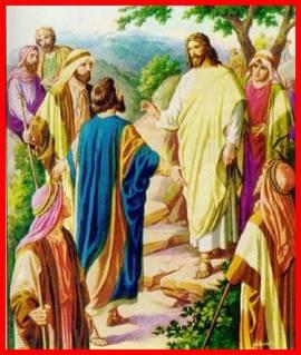 Resultado de imagen de «Señor, ¿a quién iremos?   Tú tienes palabras de vida eterna»3.- VOY CONTIGO, SEÑOR