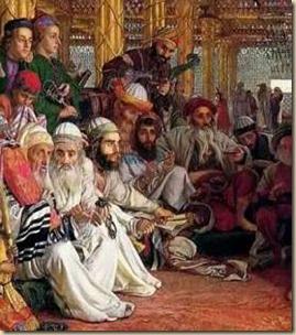 ACECHANDO FARISEOS A JESUS